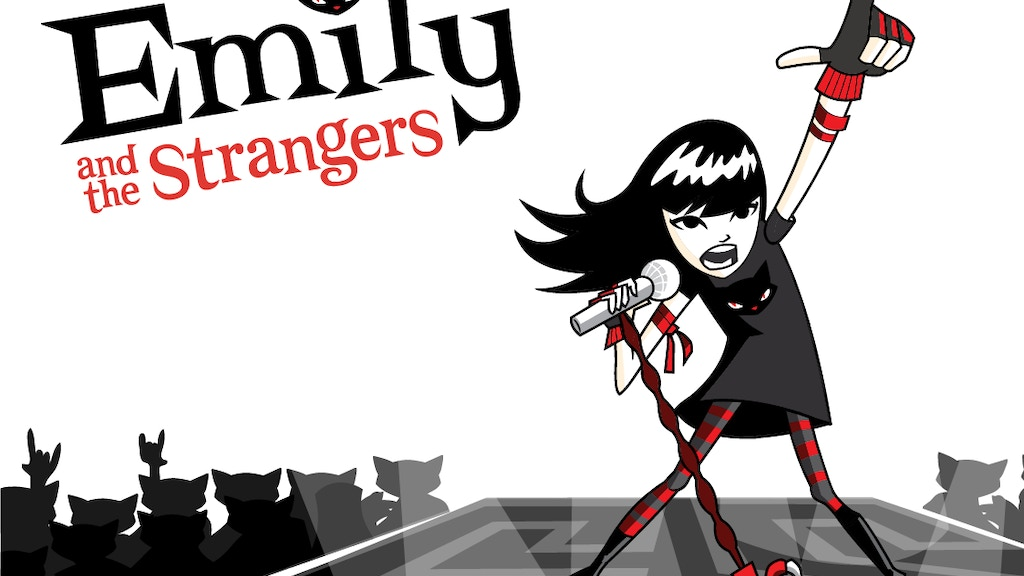 FIRST EVER EMILY THE STRANGE ANIMATED ROCK-N-ROLL SINGLE project video thumbnail