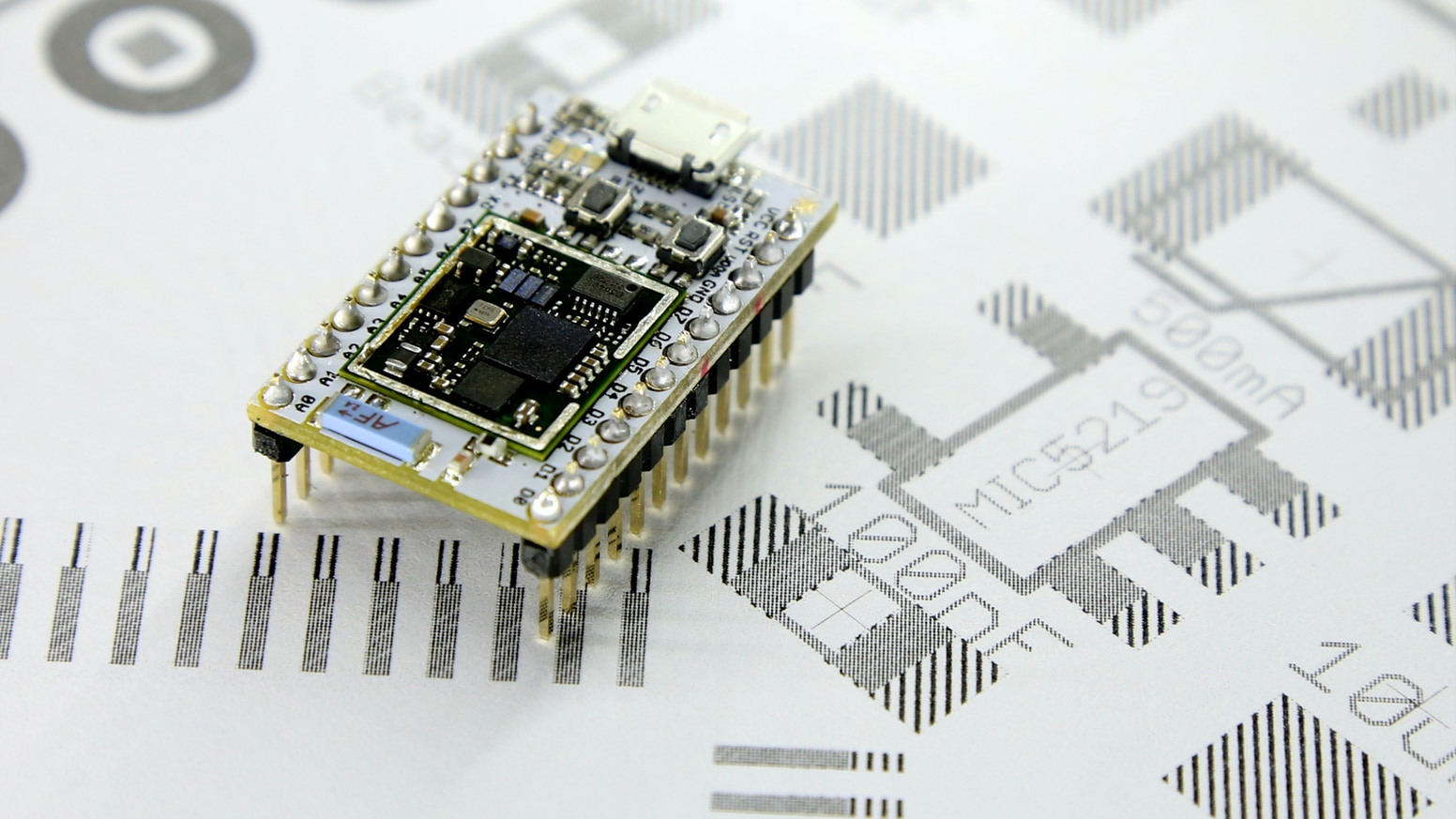 A tiny Wi-Fi development board. Arduino + Wi-Fi + ARM Cortex M3  + wireless programming + REST API = awesome.