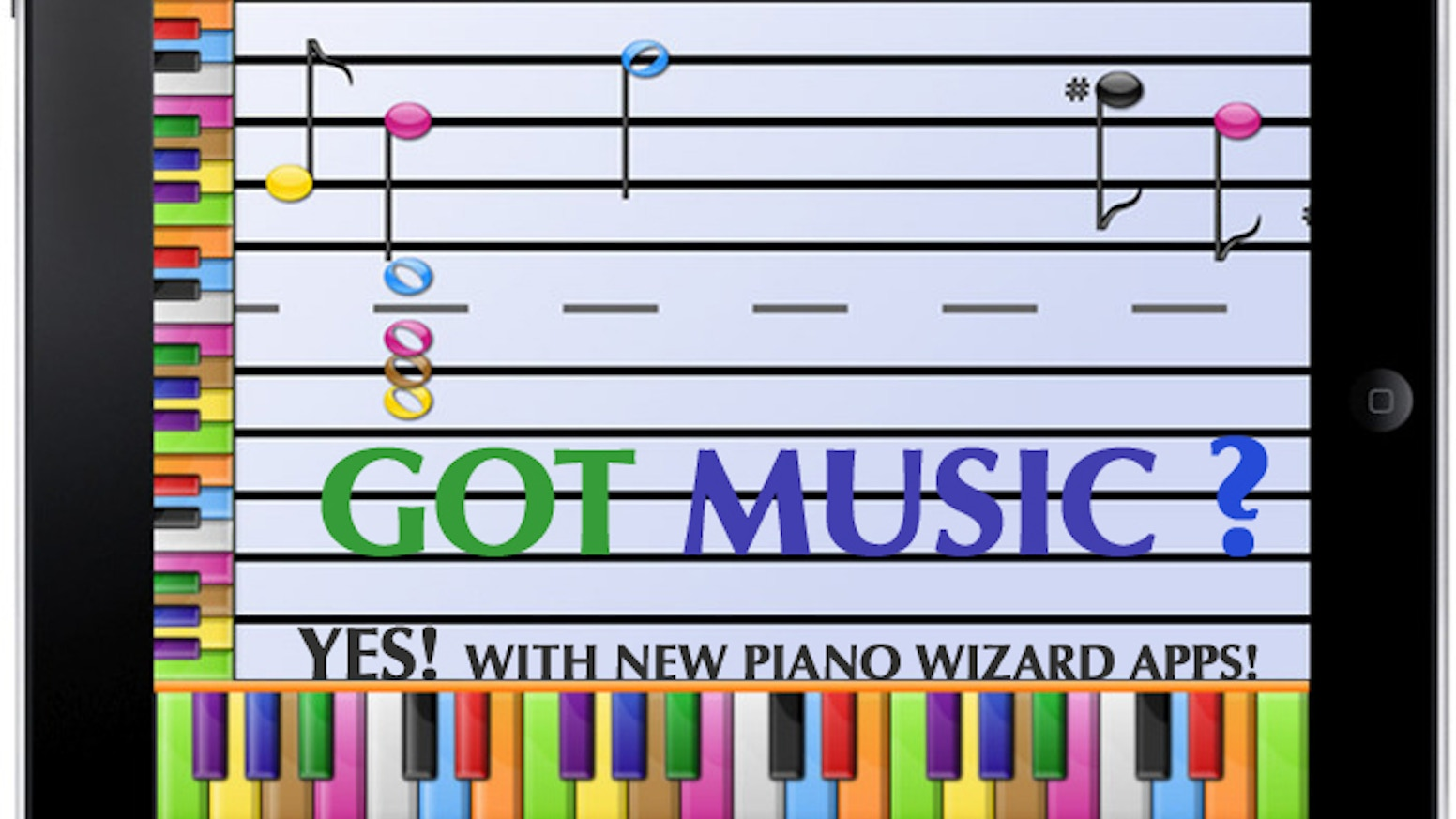 Learn to play music in minutes kickstart your brain by chris piano wizard brings trusted music video game system to ios providing effective and affordable music education to millions baditri Choice Image
