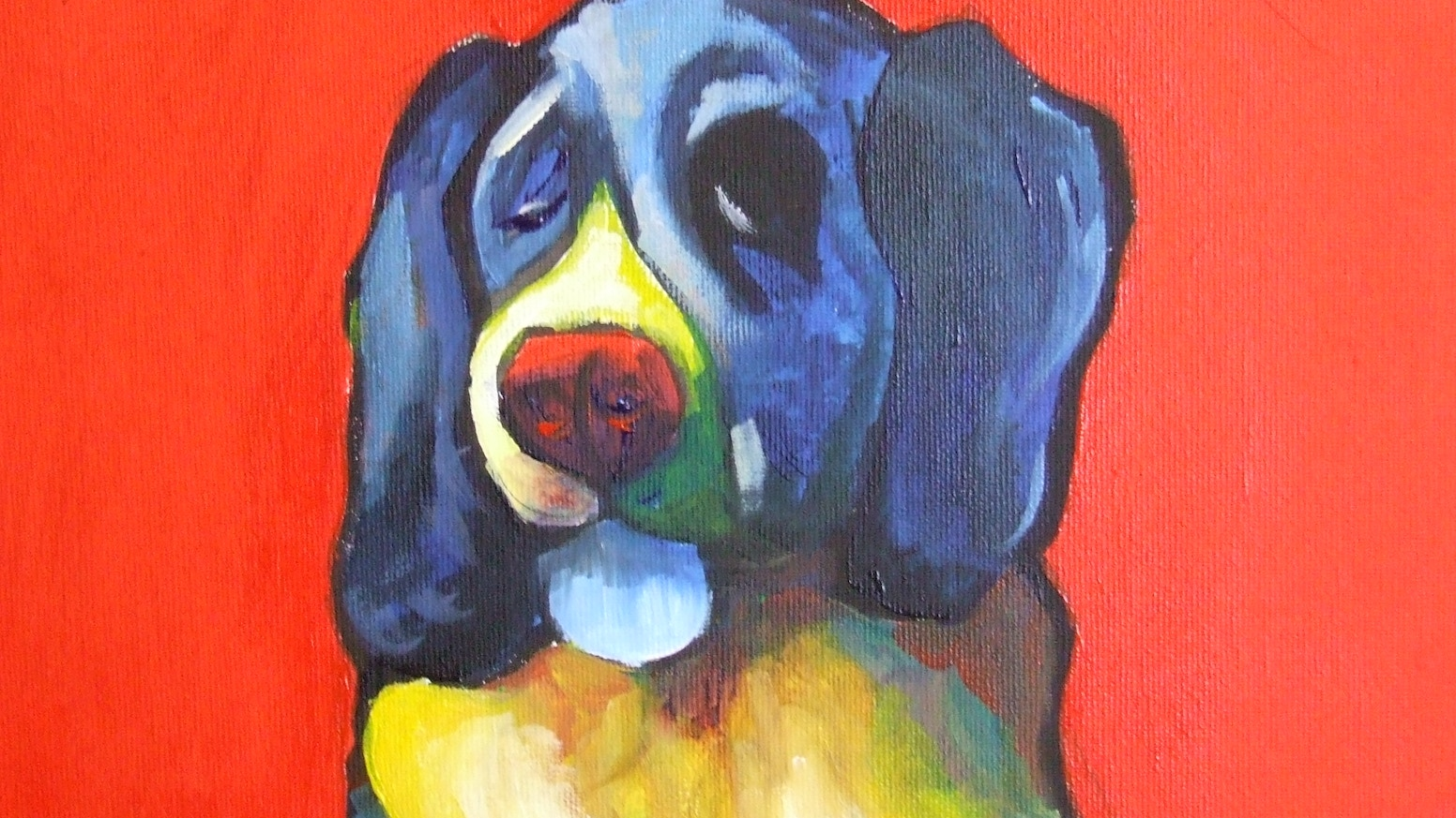 part 2 primary pet portraits your pet painted onto canvas by