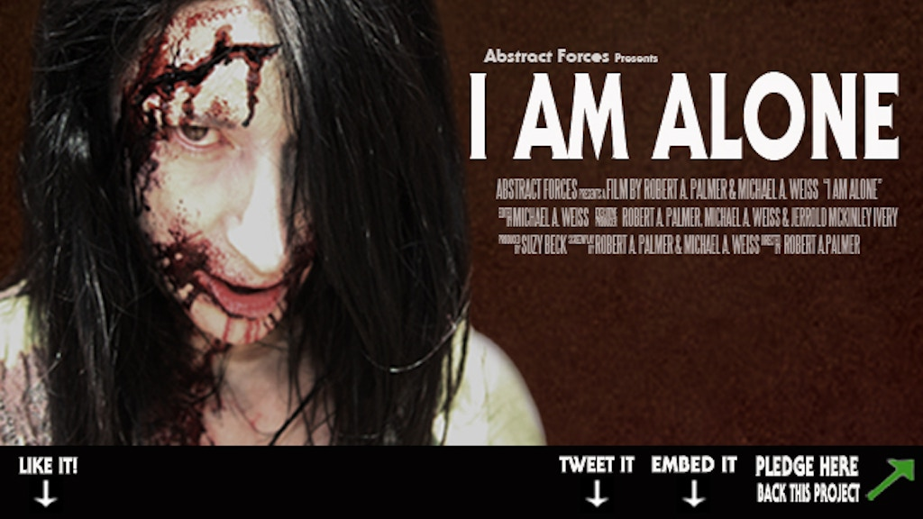 I Am Alone the Movie project video thumbnail