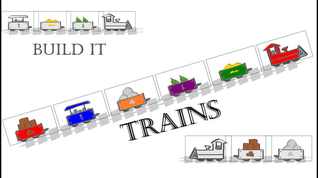 Build It- Trains, Card Game For Gamers with Kids project video thumbnail
