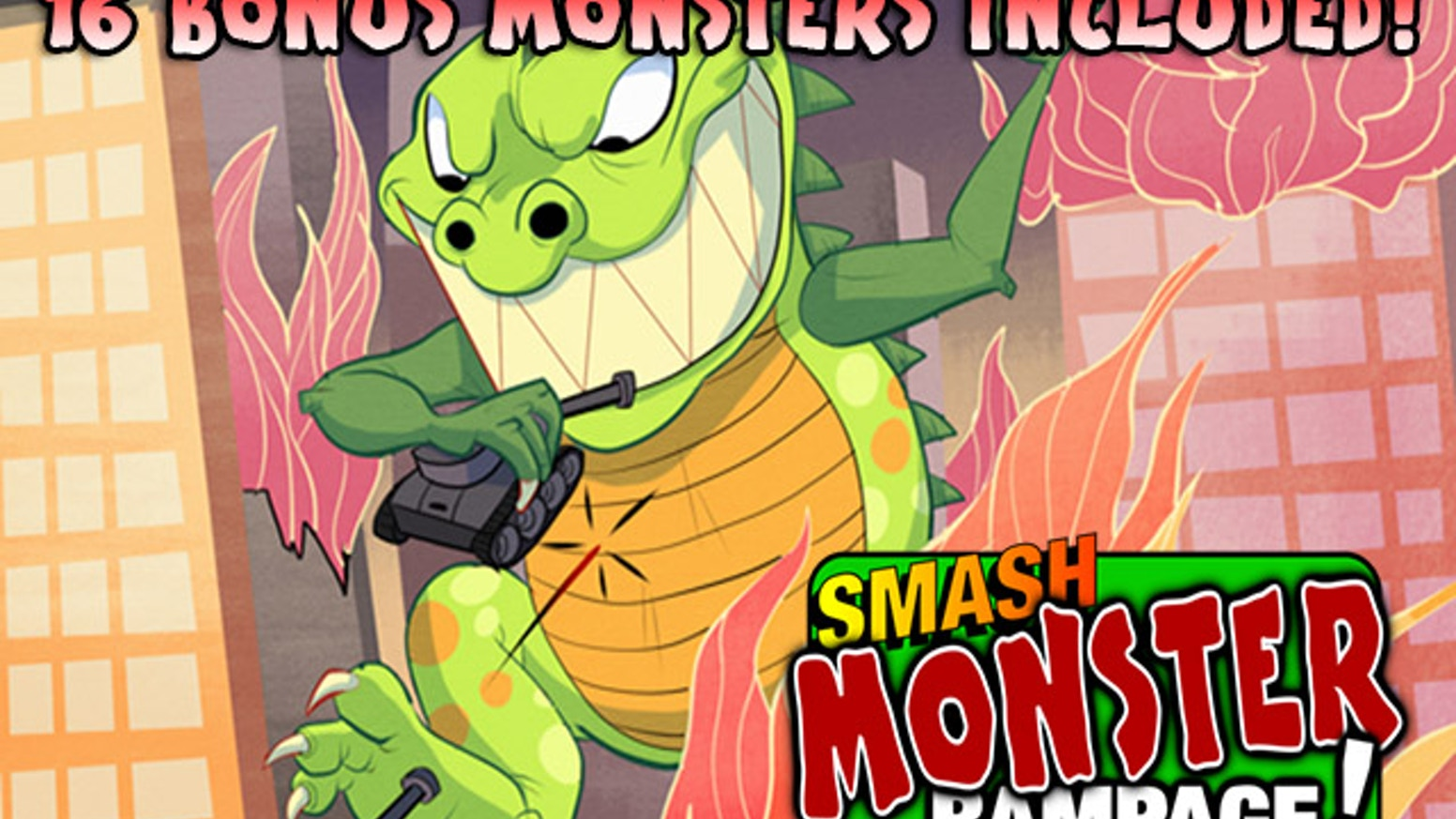 Smash Monster Rampage By Phillip Kilcrease Kickstarter