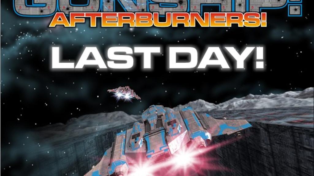 Gunship: Afterburners! project video thumbnail