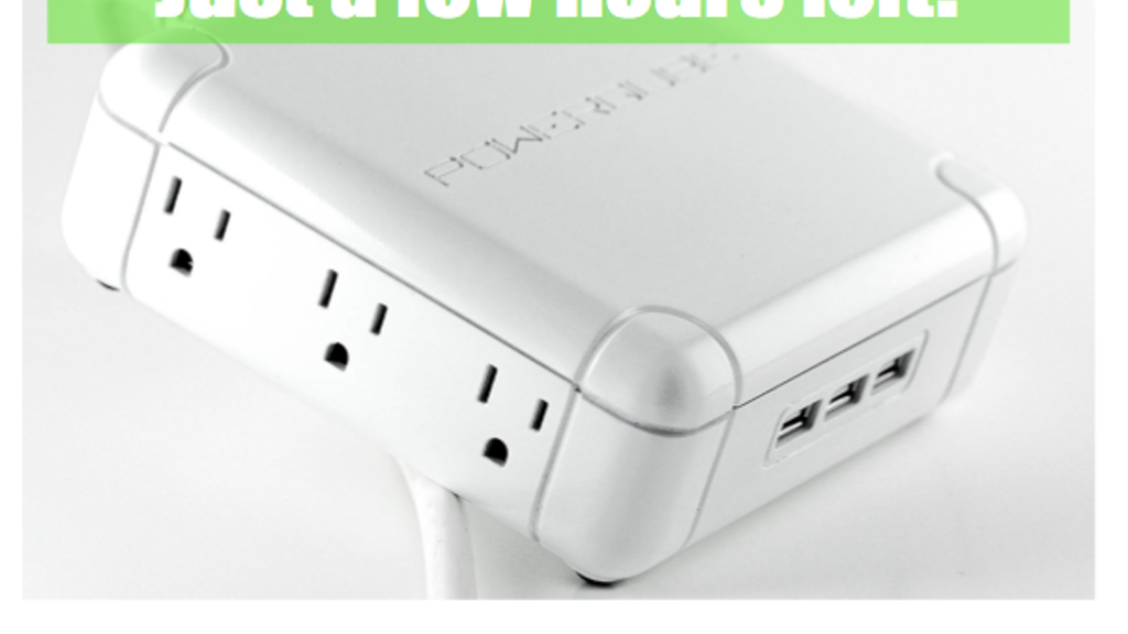 POWERQUBE - The 21st Century solution to the power strip project video thumbnail