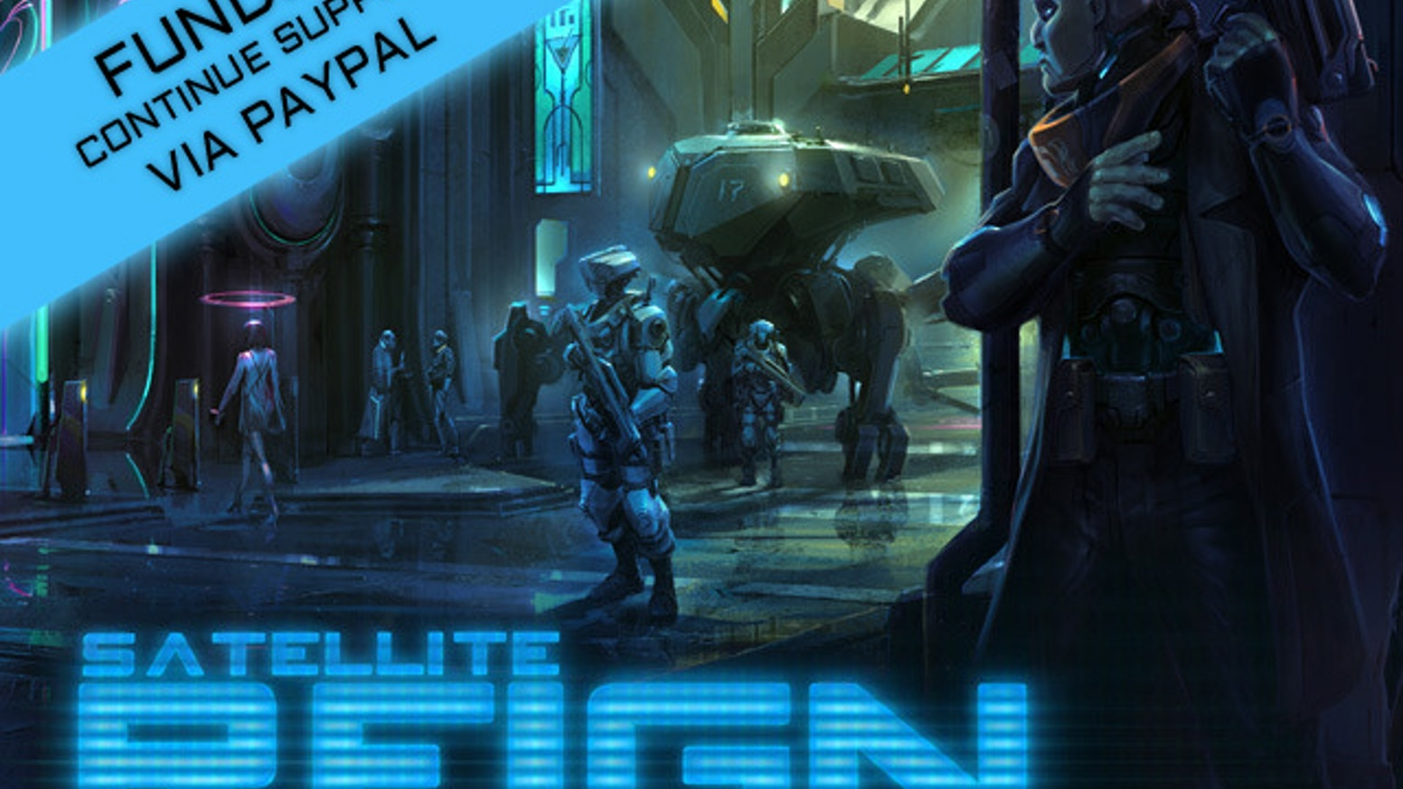 A real-time, class-based strategy game, set in an open world cyberpunk city, from the creator of Syndicate Wars.
