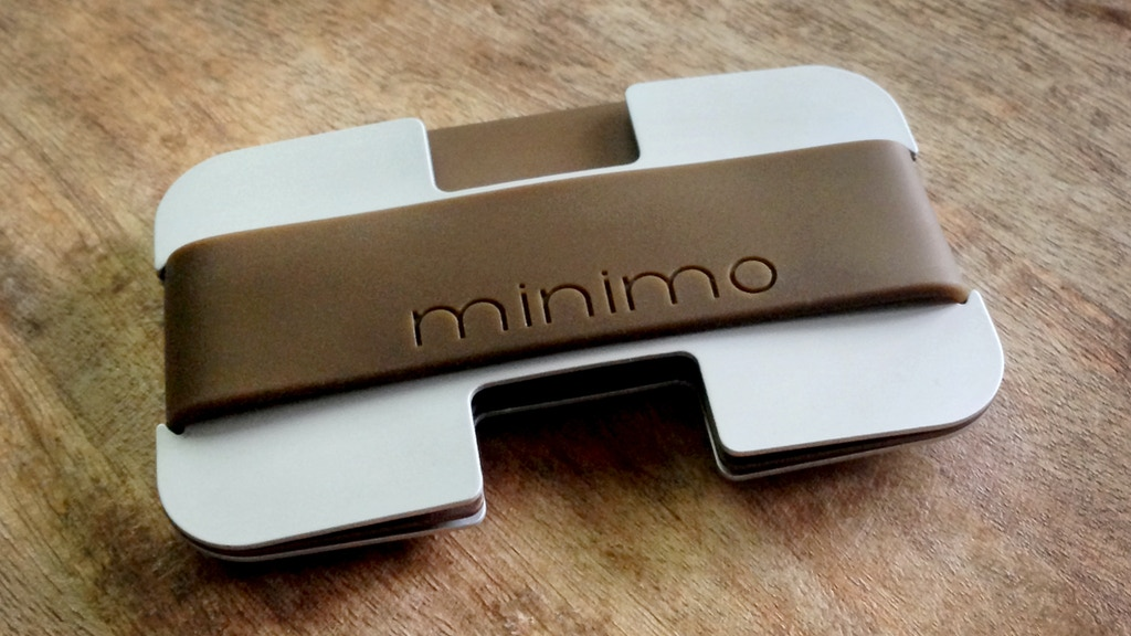 Minimo | A slim aluminium wallet with a difference project video thumbnail