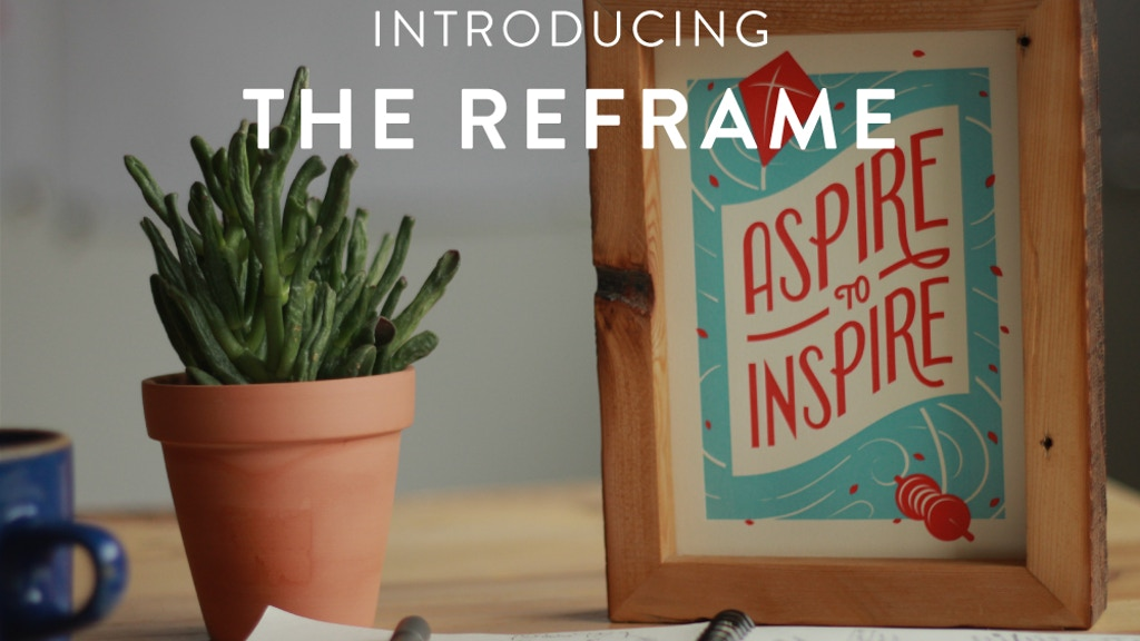 The Reframe project video thumbnail