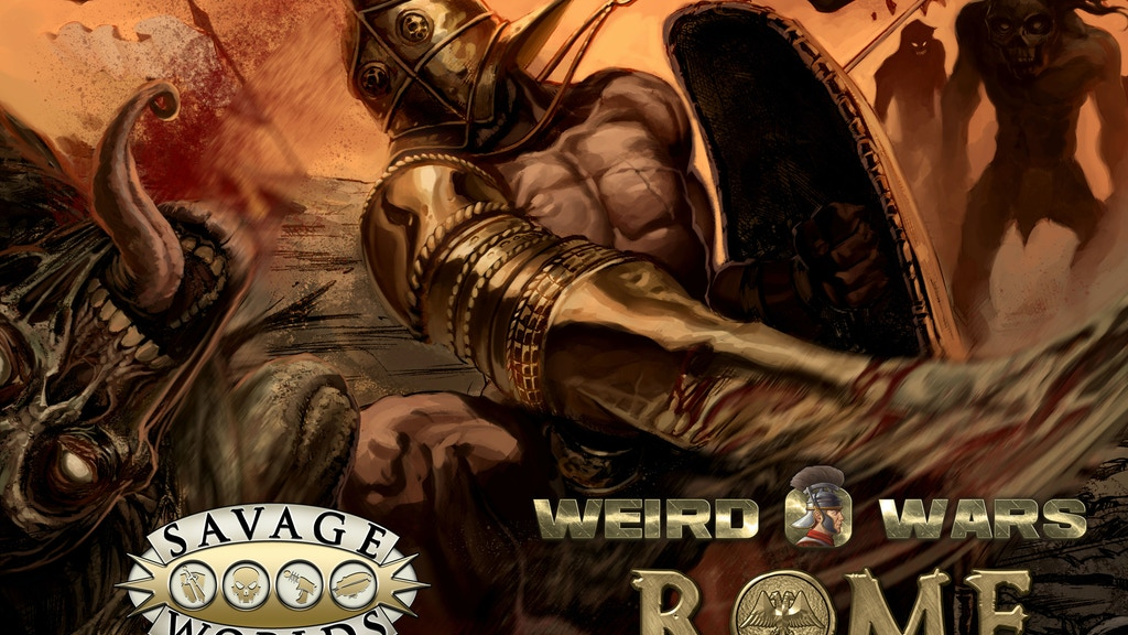 Weird Wars Rome - Savage Worlds project video thumbnail