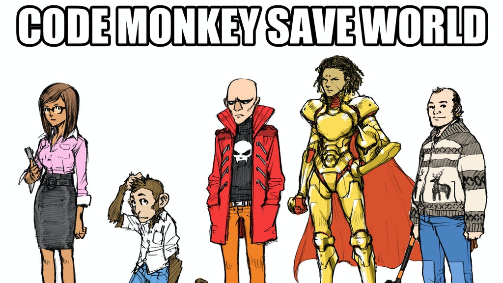 Code Monkey Save World project video thumbnail