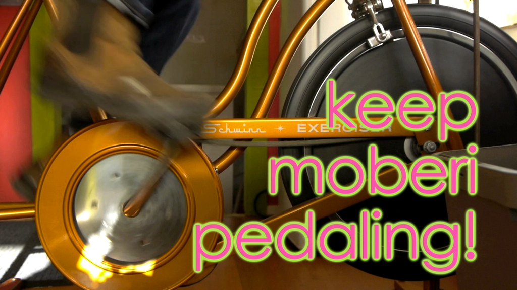 Keep Moberi Pedaling: Bike powered smoothies for all! project video thumbnail
