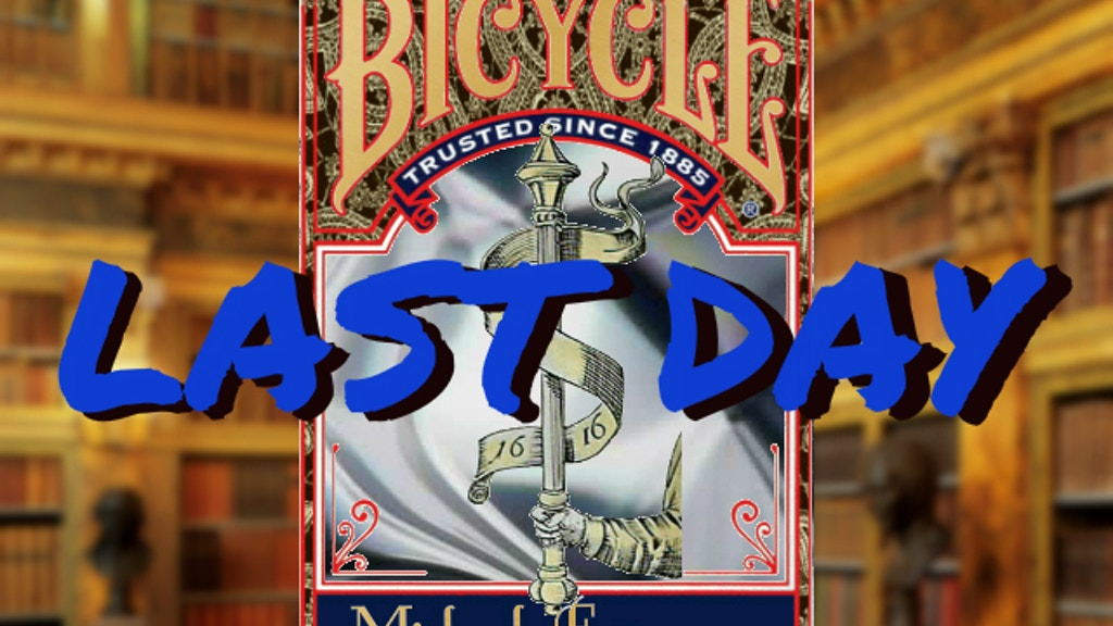 Fund Michael Frömmer's 1616 Silver Bicycle® Playing Cards project video thumbnail