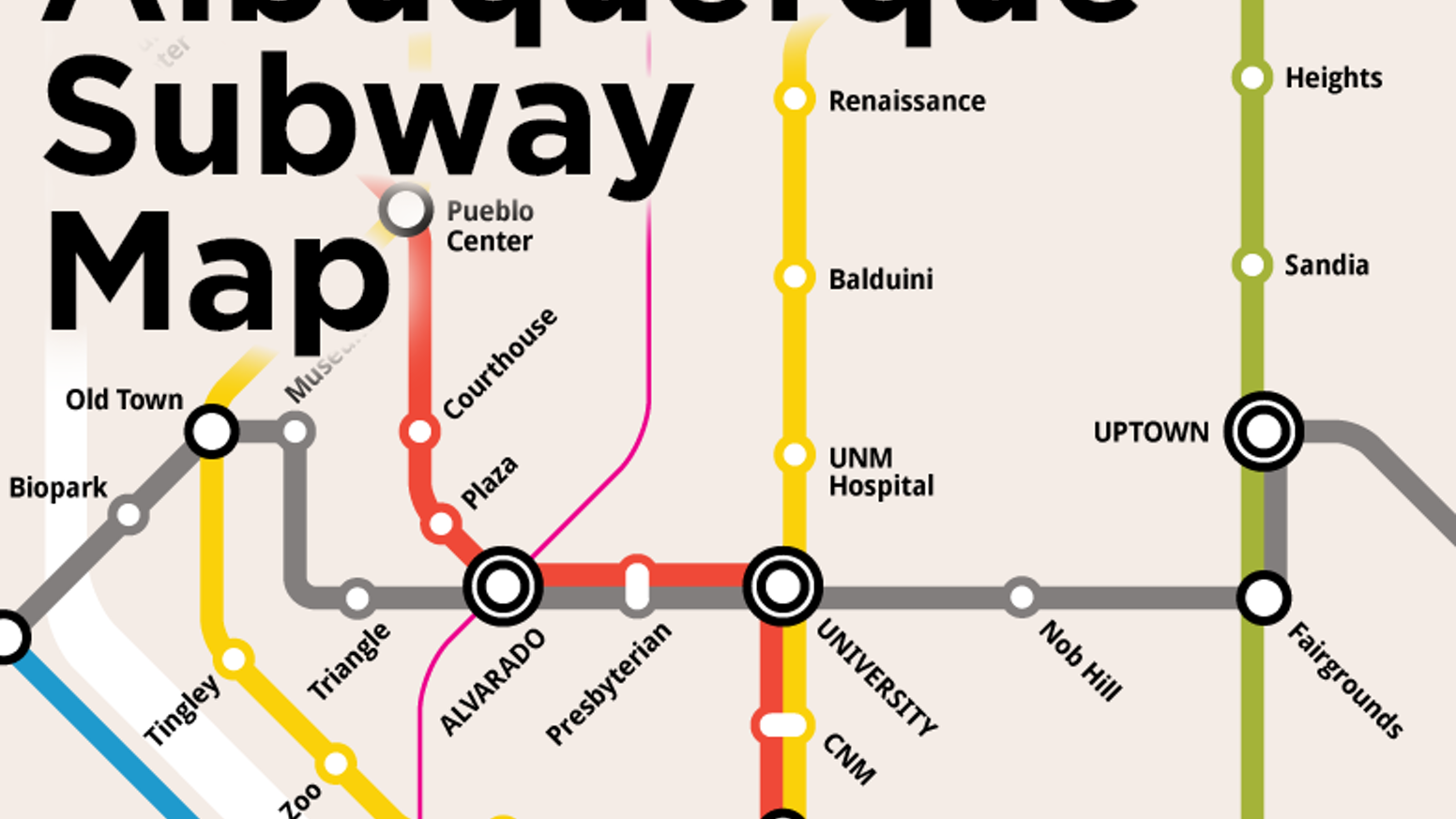 Seoul Subway Map Poster.Albuquerque Subway Poster By Ben Byrne Kickstarter