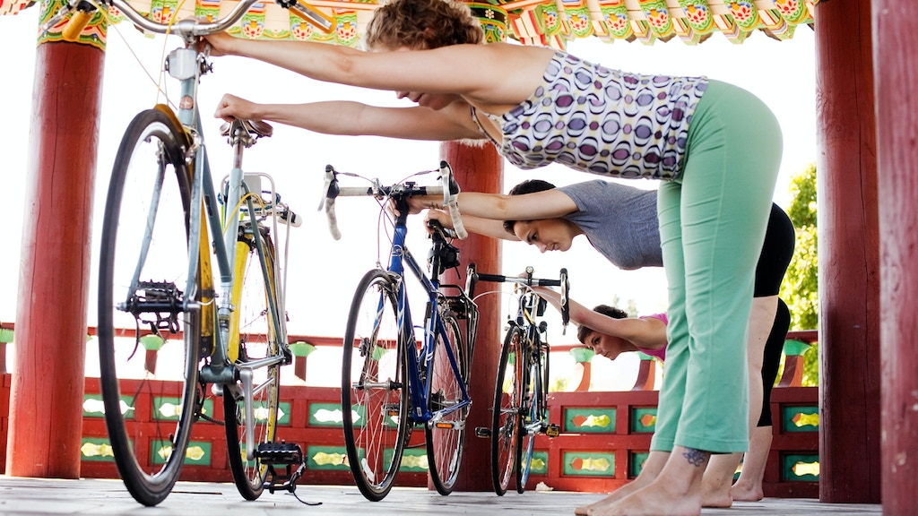 Pedal, Stretch, Breathe: The Yoga of Bicycling project video thumbnail