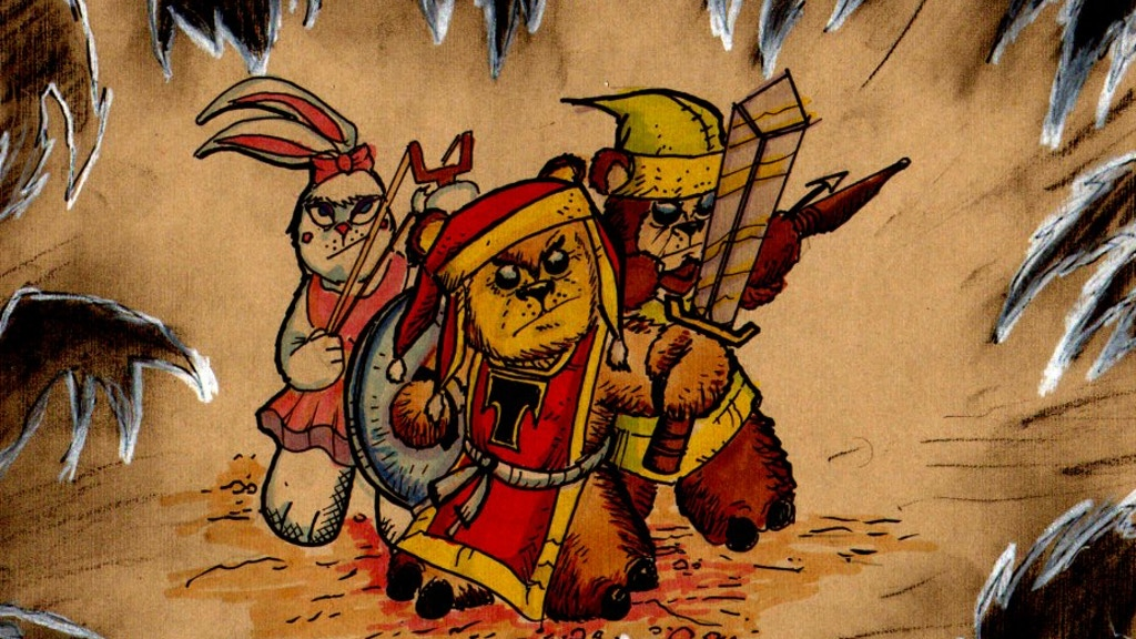 Tristan & the Cuddly Defenders a Teddy Bear Adventure Comic project video thumbnail