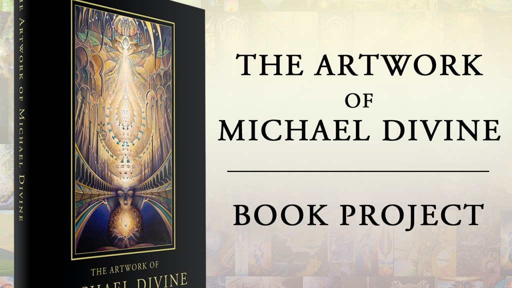 The Artwork of Michael Divine - Book Publishing Project project video thumbnail