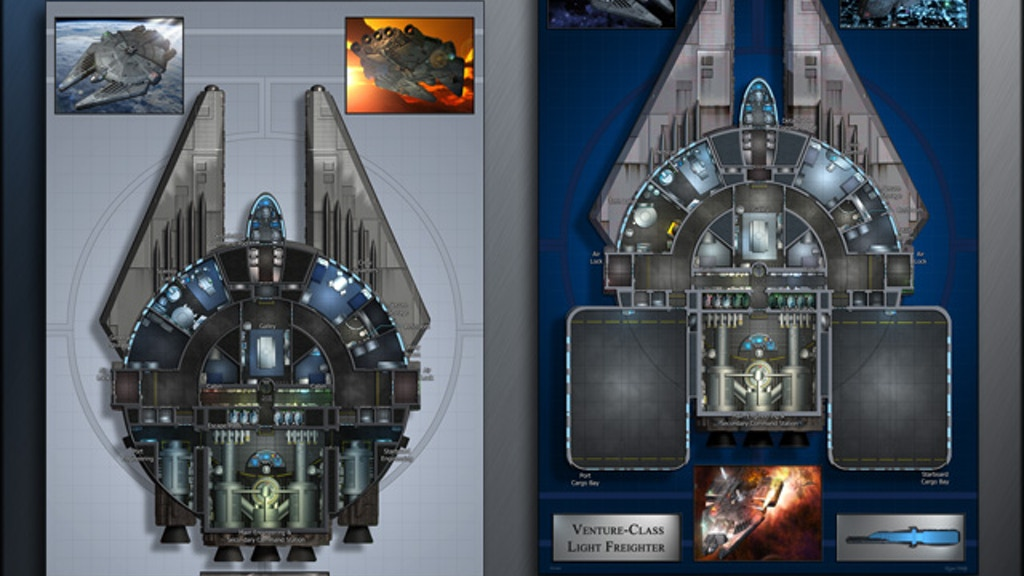 Venture: Starship Deckplans project video thumbnail