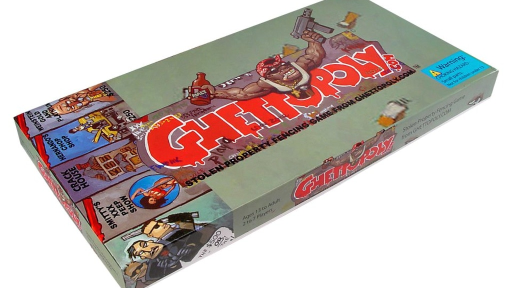 Project image for Ghettopoly Board Game Reprint 1000 copies ( limited )