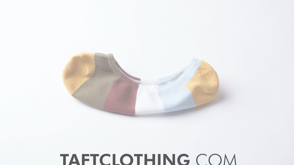 Wimbleys: A True No-Show Fashion Sock by TAFT project video thumbnail