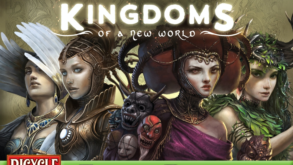 Kingdoms of a New World Playing Cards Printed by USPCC. project video thumbnail