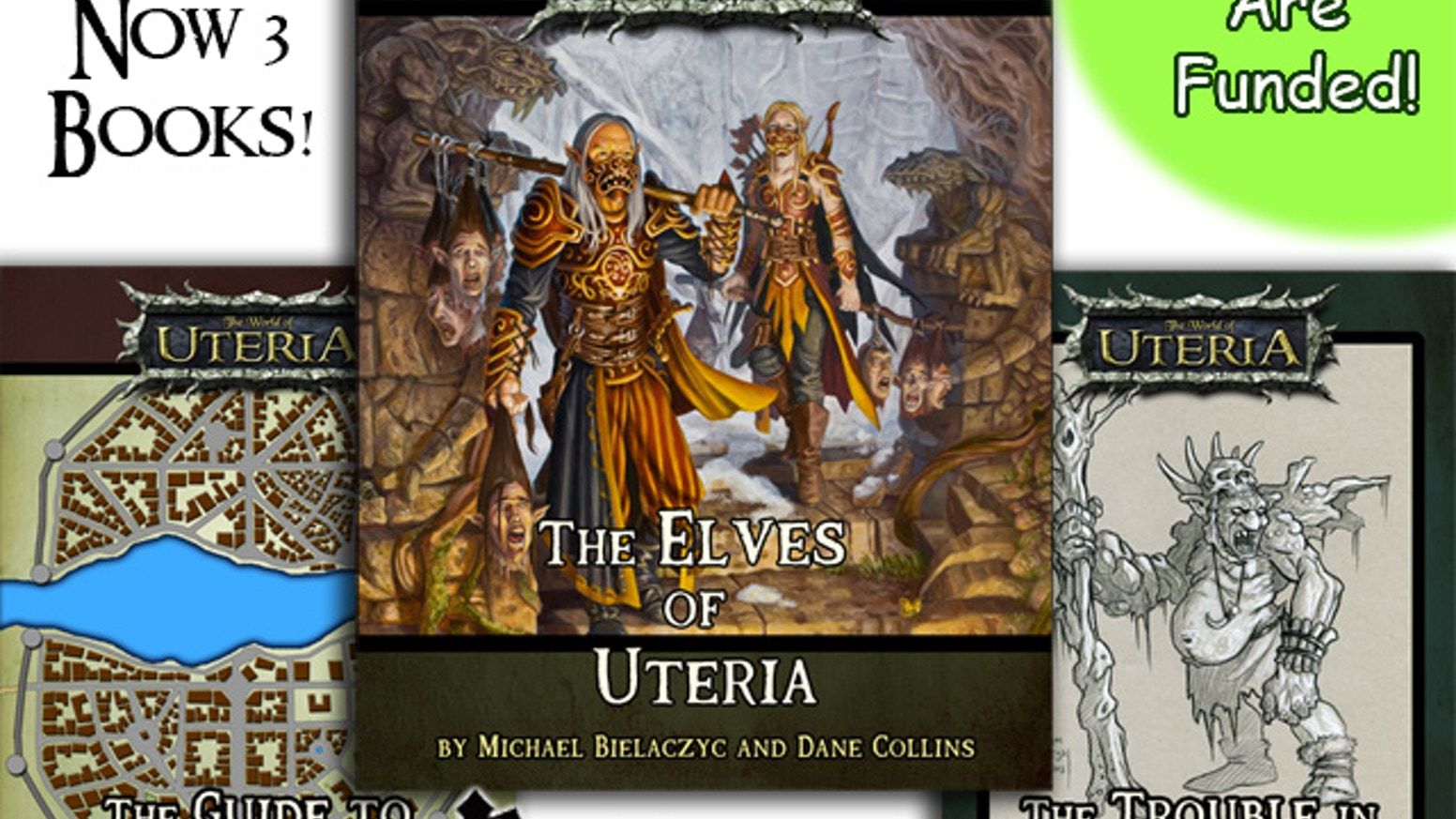 A story based source book for Tabletop roleplaying with new versions of elves based in the World of Uteria.