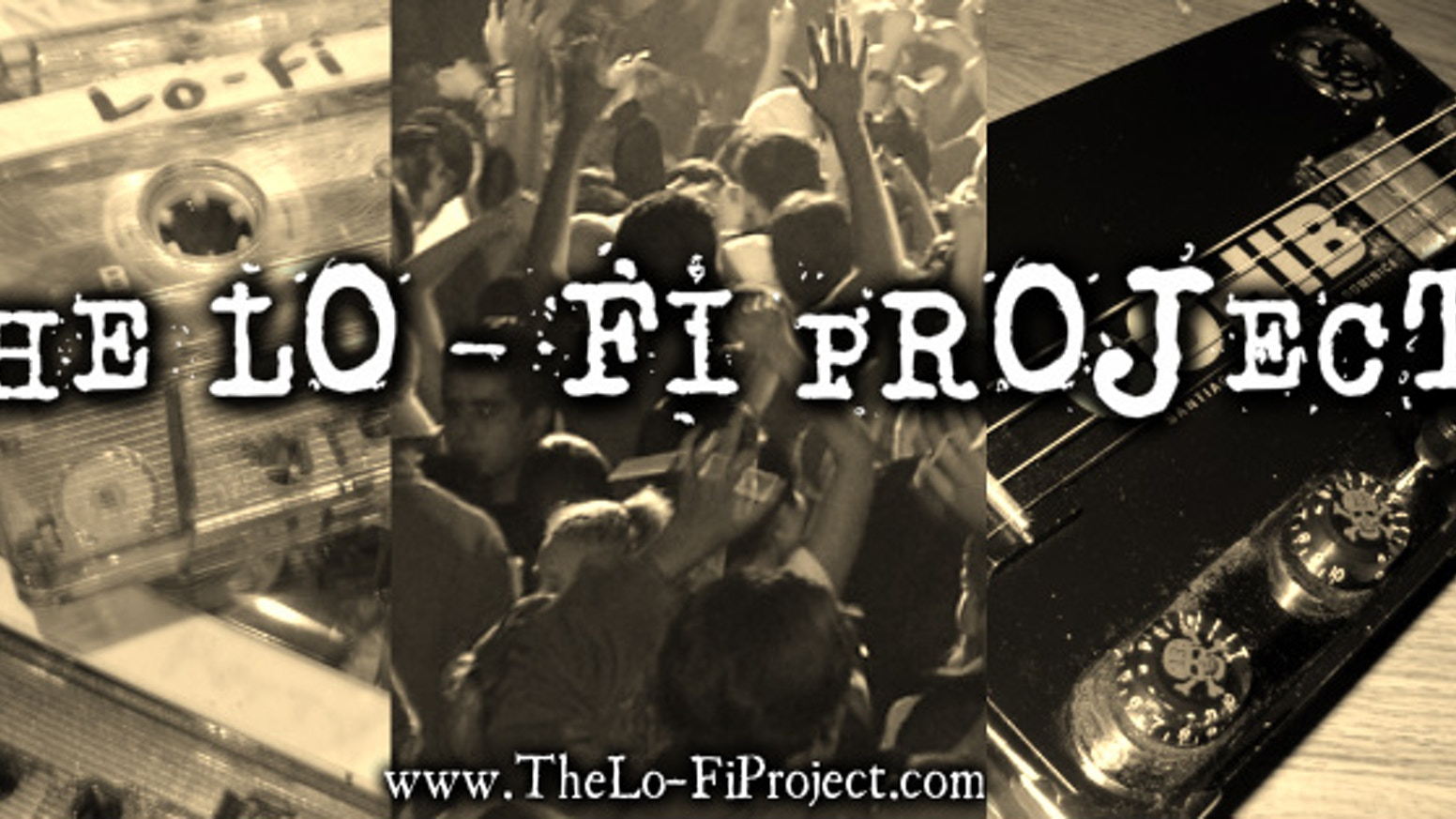 The Lo-Fi Project (a cigar box guitar band) New Album by Brian Saner
