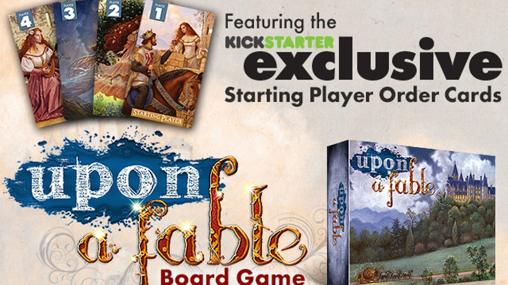 Upon a Fable - A Fairy Tale Strategy Board Game project video thumbnail