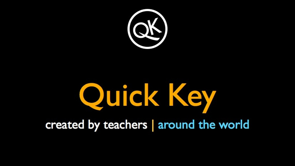 Quick Key - The Smartphone App that WORKS for Teachers project video thumbnail