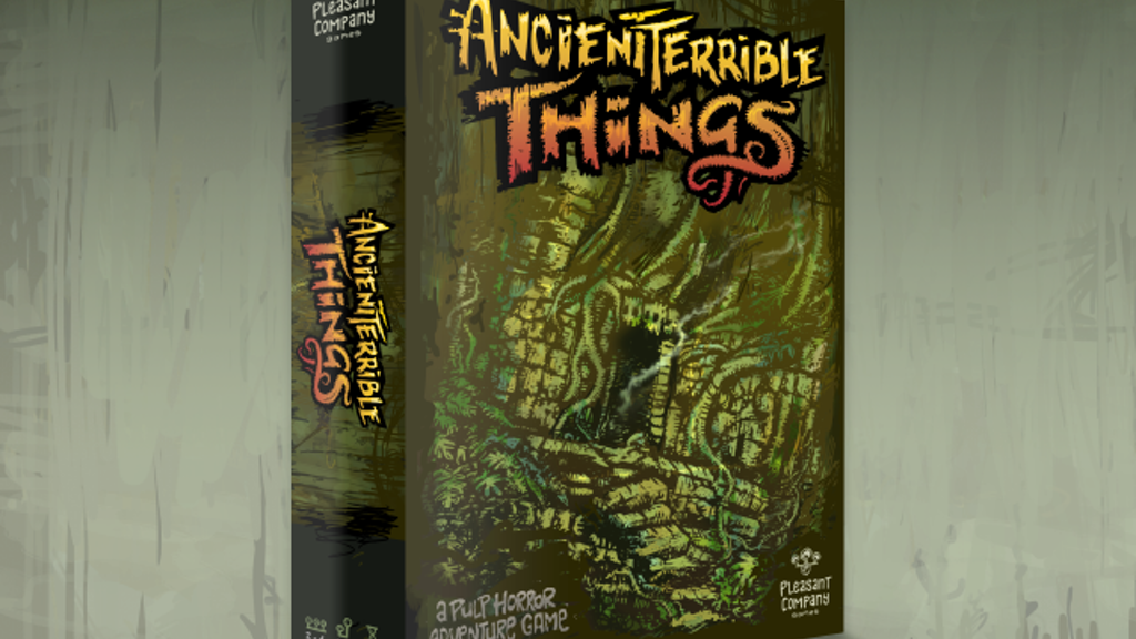 Ancient Terrible Things project video thumbnail