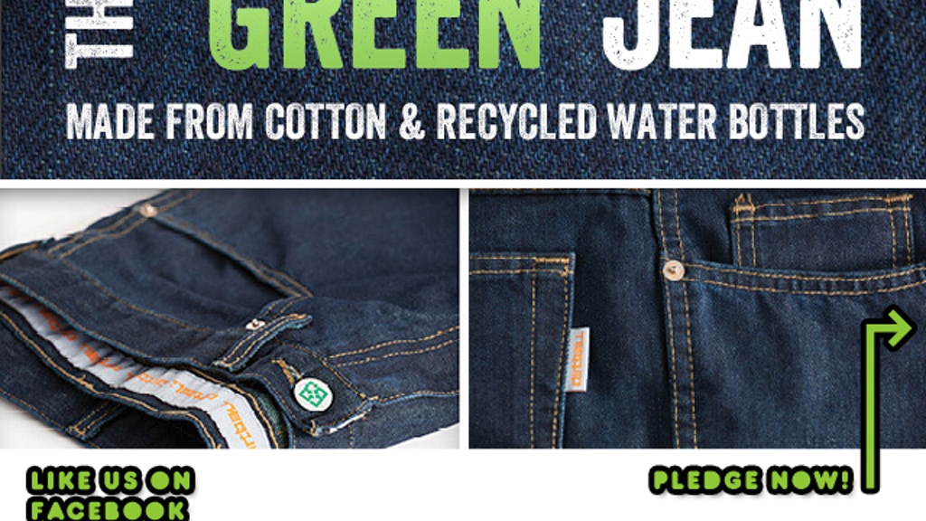 """THE GREEN JEAN"" 100% MADE IN THE U.S.A., ECO-FRIENDLY DENIM project video thumbnail"