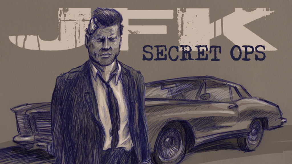 JFK SECRET OPS: the graphic novel project video thumbnail