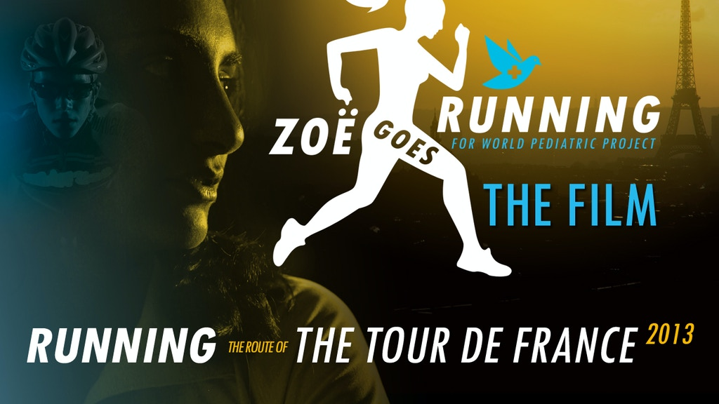 Zoe Goes Running - The Film: Running The Tour De France project video thumbnail