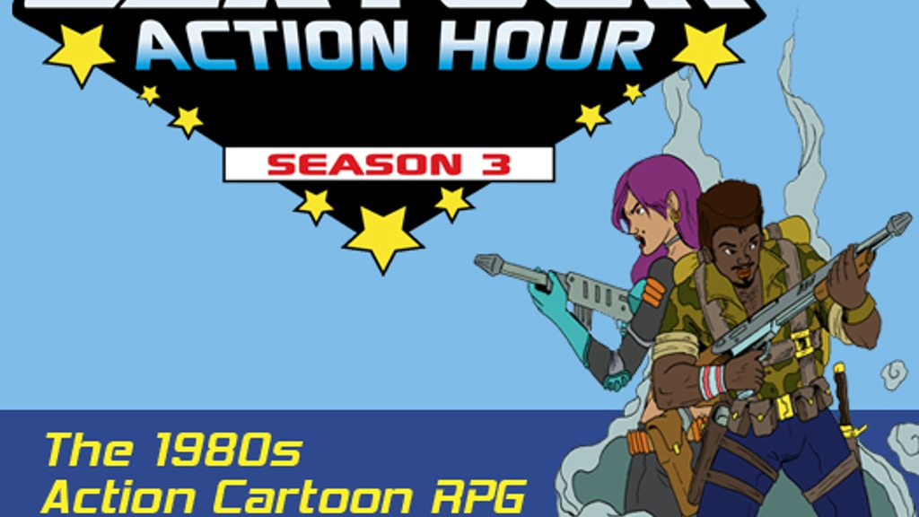 Cartoon Action Hour: Season 3 project video thumbnail