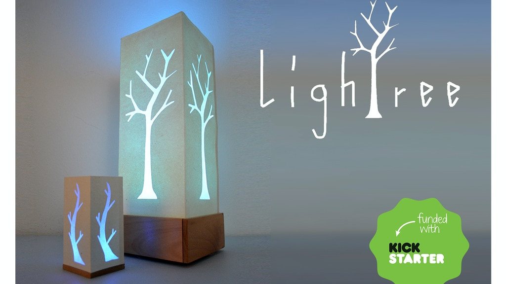 """""""Lightree"""" Multi-color remote controlled lamp. project video thumbnail"""