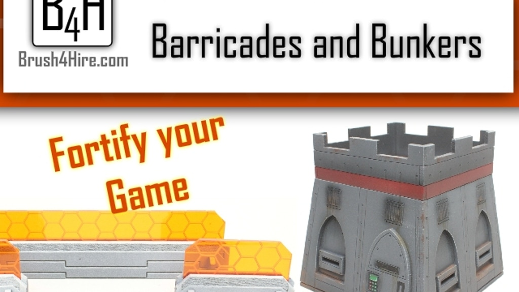 Brush 4 Hire Barricades and Bunkers project video thumbnail