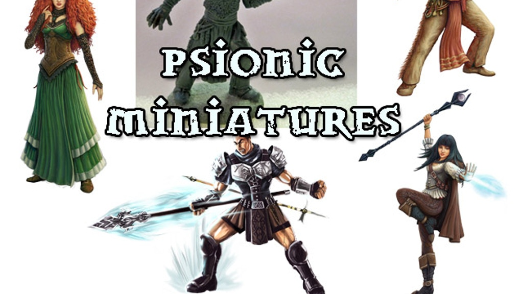 Psionic Miniatures project video thumbnail