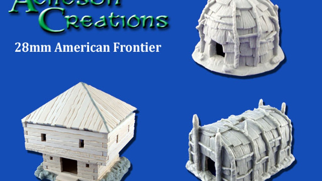 Wargaming Terrain for the American Frontier project video thumbnail