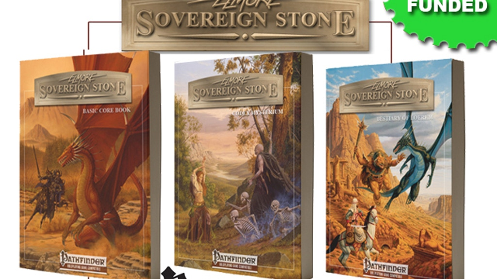Sovereign Stone Pathfinder Edition project video thumbnail
