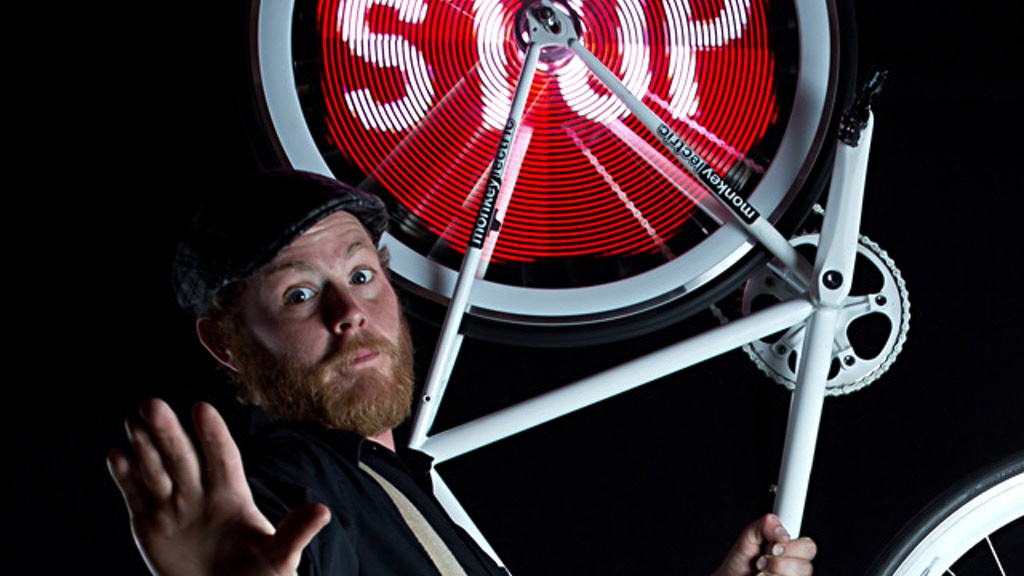 Monkey Light Pro - Bicycle Wheel Display System project video thumbnail