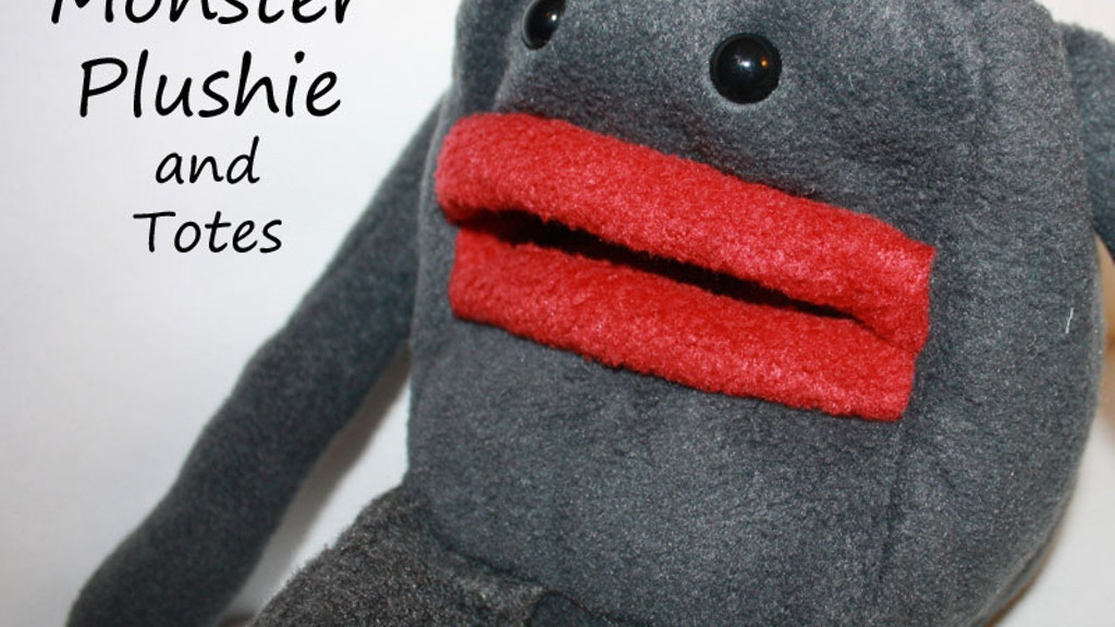 Handmade Kooky Monster Plush and Totes project video thumbnail