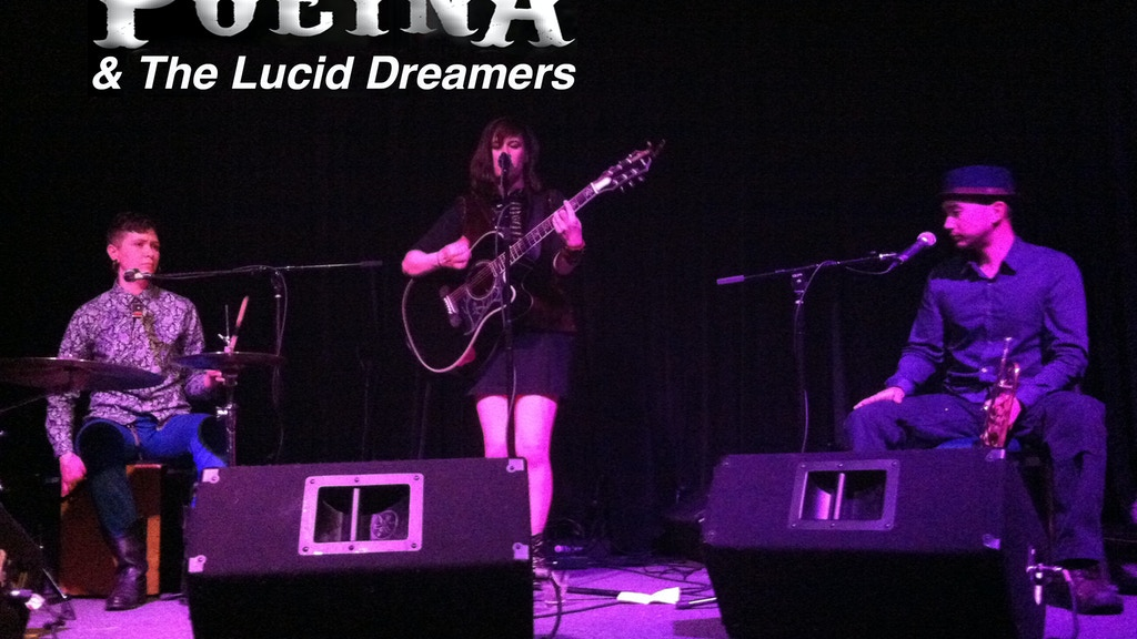 Poeina & The Lucid Dreamers ~ Songs & Whispers Euro Tour!! project video thumbnail