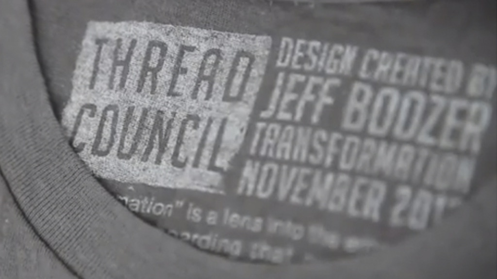 Thread Council: Killer apparel by industry's unsung heroes project video thumbnail