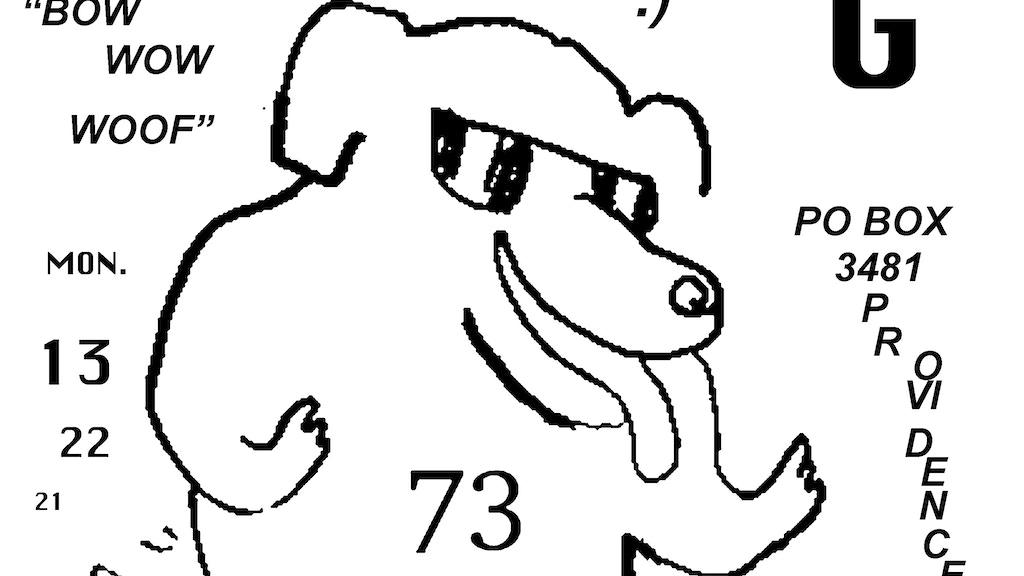 COOL DOG STICKER FUND 2013 by mickey z — Kickstarter
