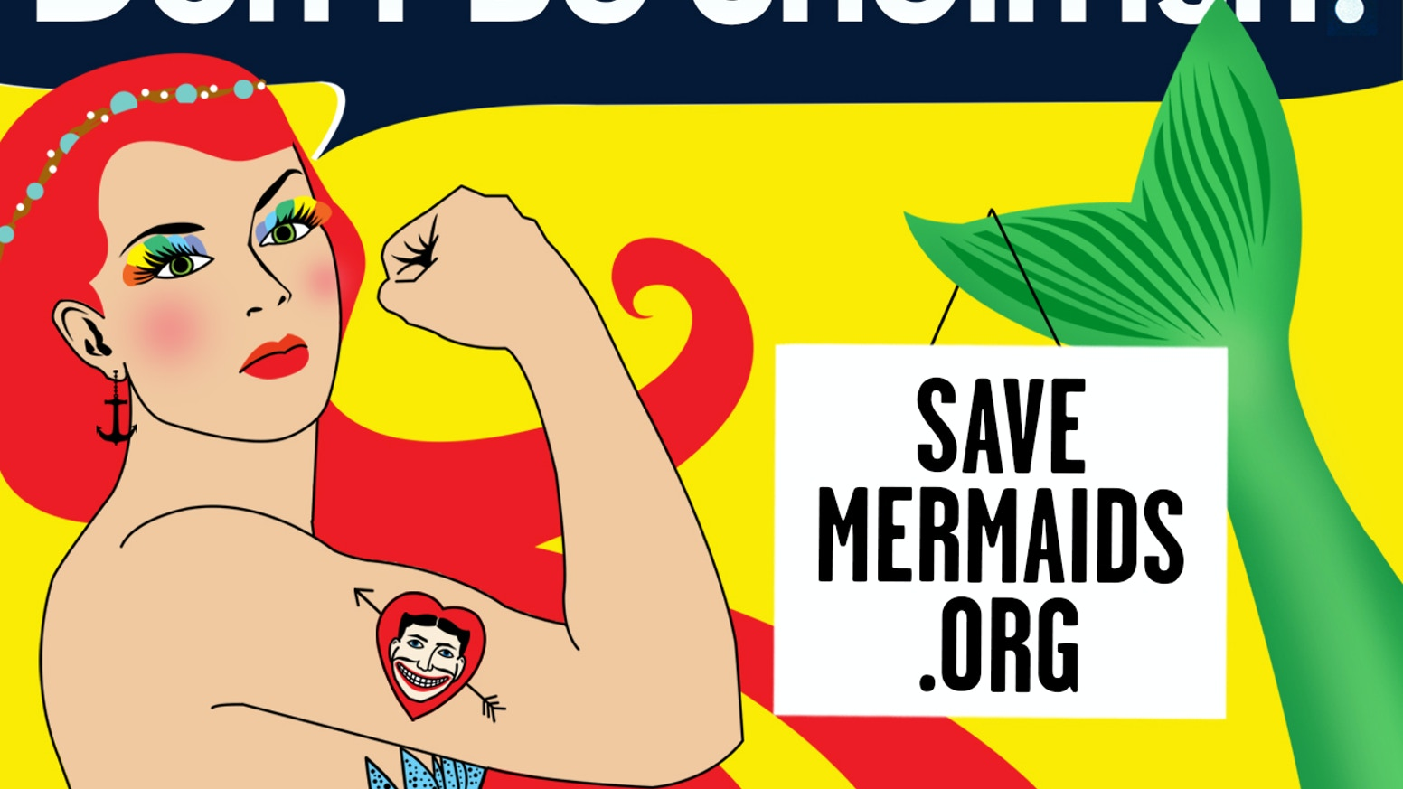 7b3daf496eaf4 Save the Coney Island Mermaid from Extinction! by Coney Island USA ...