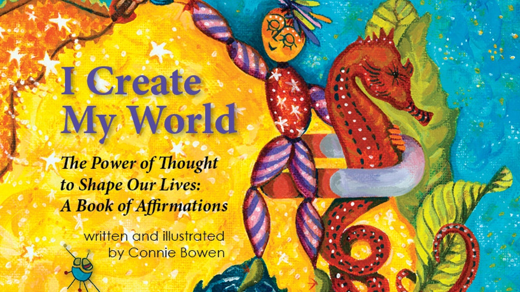 """""""I Create My World"""" - a lovely little nugget of happiness! project video thumbnail"""