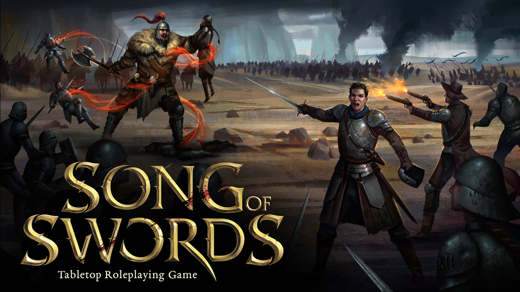 Song of Swords: Tabletop Roleplaying Game project video thumbnail