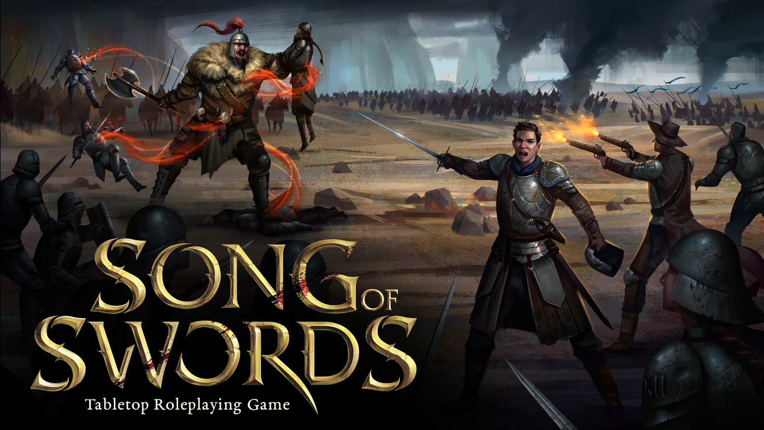 Song of Swords is a tabletop roleplaying game focused on taking combat to the next level. Perfect for historical and fantasy campaigns!