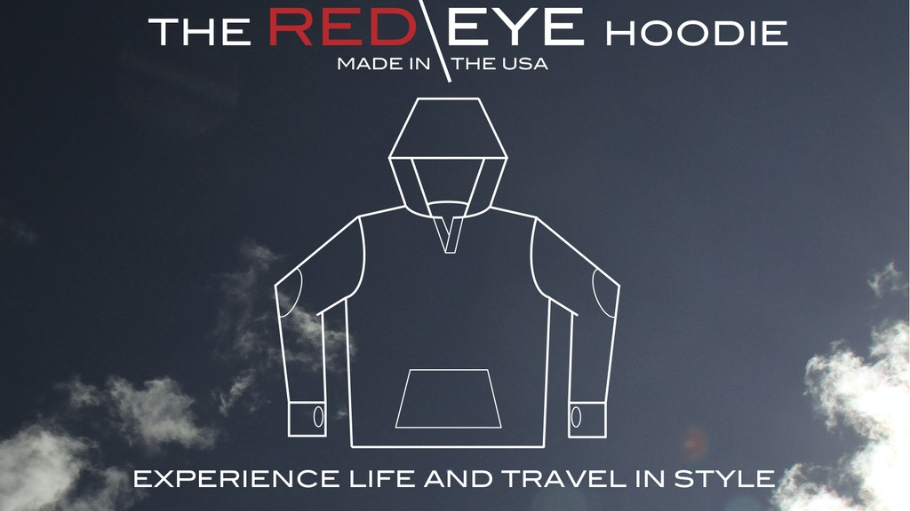 The Red Eye Hoodie project video thumbnail