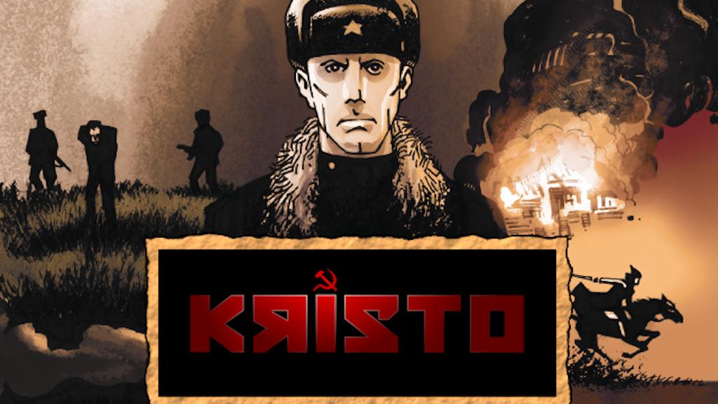 KRISTO - Graphic Novel project video thumbnail
