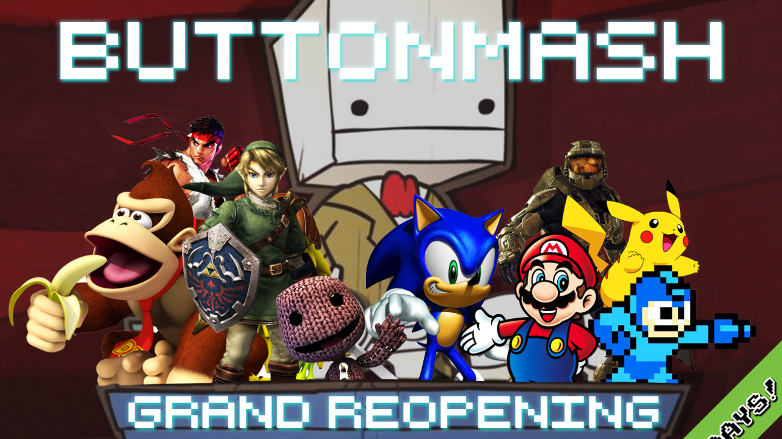 Button Mashs Grand Reopening By Button Mash Kickstarter